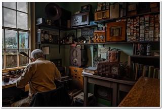 Radio repair shop