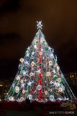 Happy Christmas from Murcia! (Toto Olmos) Tags: plaza murcia circular