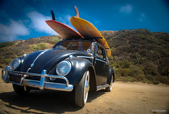 Take what you're after (.KiLTRo.) Tags: california beach car volkswagen surf unitedstates beetle longboard sanclemente sanonofre surfspot kiltrochileno