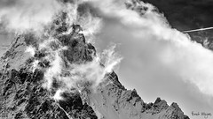 Mont Blanc surroundings III (thanks for 660.000 hits) Tags: bw mountain snow ice canon border montblanc italianborder canon6d bmeijers bertmeijers