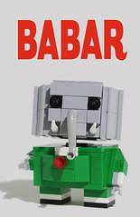 Babar : Y ! (totopremier) Tags: elephant lego babar blockhead