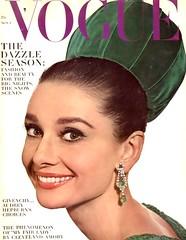 VOGUE Magazine (Nov.1, 1964) (KlaatuCarpenter) Tags: audreyhepburn magazinecover irvingpenn voguemagazine