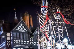 Chester Winter Watch Parade (Mark Carline) Tags: christmas winter cold lights cheshire watch culture parade chester midwinter 2015 christmasinchester chesterculture