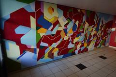 8bacnet (erdeurien) Tags: abstract art hall estate expression cit peinture immeuble peintre abstrait 2015 noisylegrand r2rien erdeurien