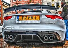 Jaguar Project 7 No.2 (Geoff_B) Tags: car bristol automobile jaguar rare limitededition queensquare project7 avenuedriversclub