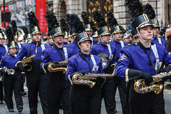 EGP15229 (Enrique Guadiz Photography) Tags: usa london cheerleaders post newyear parade bands marching eveningstandard darcy huffington oake 2016 londonist timeoutlondon lnydp