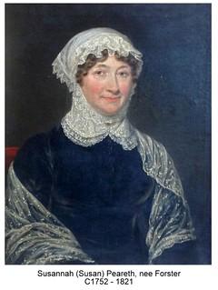 Susan Peareth  C1752 - 1821
