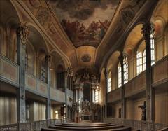 Schlosskapelle im Schloss Weesenstein (p h o t o . w o r l d s) Tags: deutschland fuji kirche sachsen schloss hdr weesenstein tonemapping s5pro schlosskapelle photoworlds