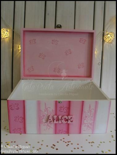 """Caixas para menina """"Fairy World"""""""