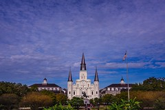 St Louis Cathedral @ Jackson Square. (djgreddy00) Tags: jacksonsquare neworleans zeiss1635 zeiss sony sonyalpha7ii sonyimages sonyalpha