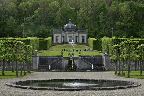 Fontaine et le Pavillon Rococo