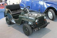 Willys Jeep - model with motor / Miniatur mit Motor (Mc Steff) Tags: willys jeep model motor miniatur retroclassicsmessestuttgart2016 us army usarmy