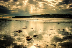 lunch with this view :) (Morag.) Tags: stonehaven scotland sea beach sunshine sunray cloud sky reflections nikon d3300 nikkor