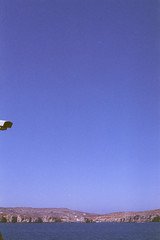 Comino, august 2014 (Tefilo de Sales) Tags: malta island ferry sea water meditarrean sky summer blue film fuji fujifilm fujixtra400 nikkormatel nikkormat nikon nikkor analog analogic 50mm 35mm erasmus trip expired comino
