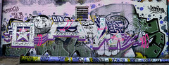 graffiti amsterdam (wojofoto) Tags: amsterdam wojofoto wolfgangjosten nederland holland netherland graffiti streetart ndsm bat