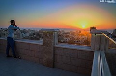 #Gaza Sunset today. (TeamPalestina) Tags: gaza palestinian sun sunset sunrise sweet sky beautifull comfort live sunrays photo photographer landscapecaptures natural  palestine landscape landscapes nice am amazing canon