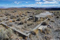 Golconda Summit, Nevada, Giant Arrow #10 (walkerross42) Tags: giant concrete arrow navigation airmail pilots golconda summit nevada
