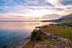 Will I find comfort in you? (stefan.el77) Tags: krk sonnenuntergang landscape shore warmth silence beach sunset sea croatia island water comfort
