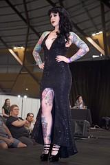 Showcasing Her Elegance 4 (l plater) Tags: missritesofpassage ritesofpassage2016 tattoofestival sydneyolympicpark