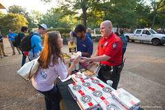 Week in Photos - 053 (Ole Miss - University of Mississippi) Tags: 2016 skb2926 coffee cop upd police union plaza students friend friendly doughnut donut breakfast homecoming adampeacock university ms usa