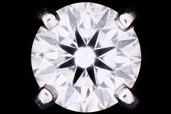 GIA Certified Colorless Diamond, Exquisite sample and exquisitely imaged (Macroscopic Solutions) Tags: gia gemological institute america diamonds certified bar code macroscopic solutions codes images micro kit stones gems giabarcodes diamondcode laserstamp etching diamondetchinggia barcode