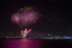 Pier Head Purple (Chris Galvin Photography) Tags: fireworks purple pierhead liverpool threegraces royalliverbuilding waterfront