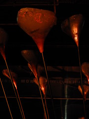 The London 2012 Cauldron (failing_angel) Tags: 051215 london cityoflondon museumoflondon london2012cauldron heatherwickstudio petals copper gold silver bronze olympictorch