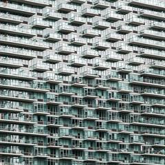 Long Island City (Tom Lierman) Tags: ny longislandcity queens faade balcony reflexion