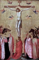 IMG_8152 Giotto di Bondone 1267-1337. Florence.  La Crucifixion. vers 1325.  Strasbourg  Palais des Rohan. (jean louis mazieres) Tags: peintres peintures painting muse museum museo france strasbourg palaisdesrohan giottodibondone