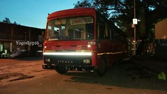 swargate - satara nonstop bus (yogeshyp) Tags: msrtc st satarast eicher msrtceicher