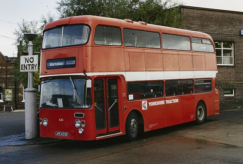 JHE633E Yorkshire Traction 633 Barnsley