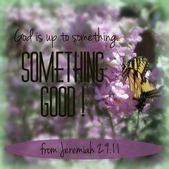 SomethingGood (Yay God Ministries) Tags: godisuptosomethingsomethinggood fromjeremiah2911 jeremiah2911 jeremiah29 jeremiah yaygod god bible scripture