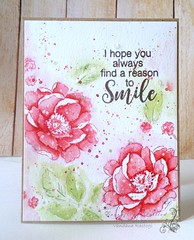 Reason to Smile (Vandana Rastogi) Tags: sssflickrchallenge58 everythingquilled handmade card altenew choose happy