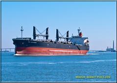 Sea Confidence 1521 LR (bradleybennett) Tags: cargo vessel ship shipping delta water river ocean tanker antioch seaconfidence sea confidence port stockton
