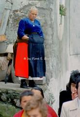 """Nocera Terinese (CZ), 1973, la processione della Madonna Addolorata: il rito dei """"vattienti"""". (Fiore S. Barbato) Tags: italy calabria catanzaro nocera terinese noceraterinese madonna addolorata processione vattienti battenti sangue rito riti battente ecce homo eccehomo gruppo ligneo piet"""