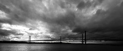 Forth Road Bridge #2 (Claire Stones) Tags: forthroadbridge cloud october clouds scotland nikon firthofforth forth