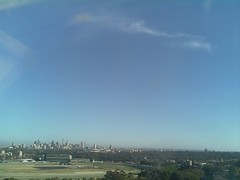 Sydney 2016 Oct 21 07:23 (ccrc_weather) Tags: ccrcweather weatherstation aws unsw kensington sydney australia automatic outdoor sky 2016 oct earlymorning