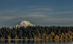 rainier in autumn (David Montesino) Tags: longbranchwashington keypeninsula mountrainier autumn tacoma washington usa