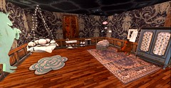 Our Daughter's bedroom (Allie Carpathia) Tags: victorian home bedroom kidsroom love family bed autumn secondlife