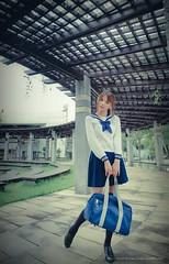 _JAY0082 ( Jaylin) Tags: mzd omd olympus oldhouse m43 mirco model beautiful portrait photo pepole park jpg dress sailor suit taiwan taipei flower expo jelin jaylin eye em1 40150mm 1240mm