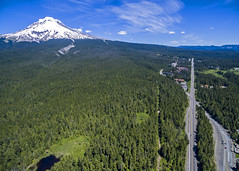 Government Camp and Mt. Hood (JeremyConk) Tags: oregon mthood dji inspire landscape dronelife