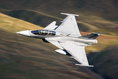 'Delta' (benstaceyphotography) Tags: saf saab gripen sweden swedish air force raf royal leeming lfa17 nikon military aviation lowlevel