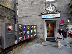 edinburgh_515 (OurTravelPics.com) Tags: edinburgh entrance camera obscura building crossing royal mile ramsay lane