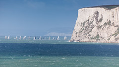 2016 Round the Island Race - West Wight - IMG_8193 (s0ulsurfing) Tags: s0ulsurfing 2016 may isle wight summer sea coast coastal west sailing rtir
