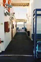 Ferry (Chi Bellami) Tags: film fujifilm fujicolor c200 nikon nikonosv 35mm zonefocus scalefocus scanned scan colour c41 negative photohippo chibellami amphibiouscamera nikonos ferry boat isleofwight solent