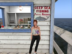 Deep Sea Fishing Day (Flawless Developments) Tags: friday truth tres blah maitreya catwa glam affair it livia color me project candied violets