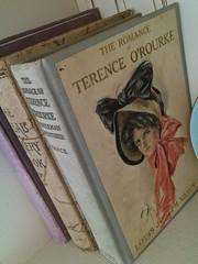 Vintage books (eg2006) Tags: book books bookcover oldbooks antiquebooks vintagebooks coverillustration harrisonfisher louisjosephvance theromanceofterenceorourke