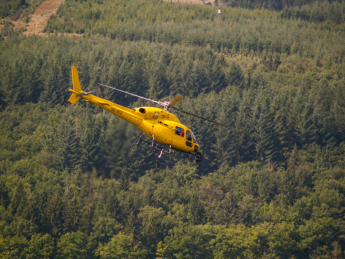 Belgian GP - TV Helicopter