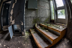 Le stationnement (prise 2) (THE-K-PROJEKT) Tags: canon underground mtl montreal parking hdr souterrain abandonned fisheyes urbex stationnement urbexmontreal urbexmtl kevenlavoie thekprojekt