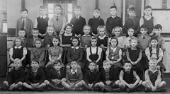 Walter Street, Nelson (theirhistory) Tags: uk school girls england boys shirt kids children photo education shoes dress group tie skirt class jacket photograph bow junior gb jumper shorts form wellies primary runnerboots